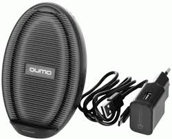 Беспроводное <b>зарядное устройство Qumo</b> Qi Cold Charger SET ...