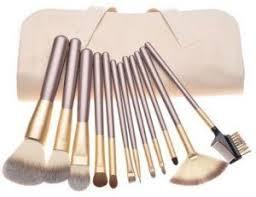 Eyelash Brush 12 Pcs Professional Makeup Brush Set W Pouch Brush Eyeshadow Eyebrow Eyelash Lip Tool Kit