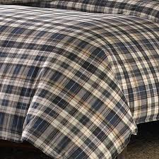 canada red ed bauer spencer plaid duvet cover set free today com 17616105 plaid flannel duvet covers