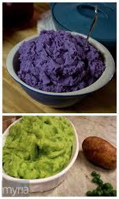 Purple Green Purple Green 2 Colorful Ways To Make Mashed Potatoes Myria