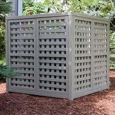 Lattice Air Conditioner Screen Wood Lattice Air Conditioner Screens Air Conditioner Screen