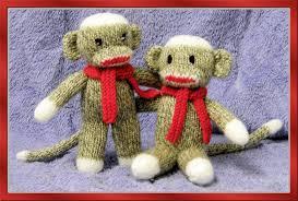 sock monkey knitted baby blanket knitting pattern on luulla