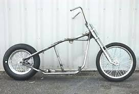 kraft tech chopper bobber rigid hardtail frame springer rolling