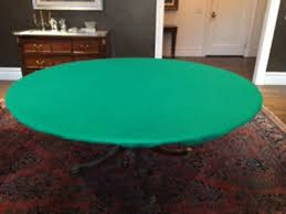 original felt style round tablecloth cover for 60 table elastic