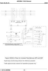 recording devices for interconnected grade crossing and Preemption Wiring Diagram arema c&s manual circuit design diagram 4 Light Switch Wiring Diagram