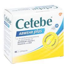 Cetebe Abwehr Plus Vitamin Cvitamin D3zink Kapsel N 120 Stk