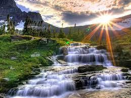 Cascade Mountain Waterfalls HDR ...