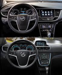 buick encore interior. 2017 buick encore vs 2013 interior dashboard driver side