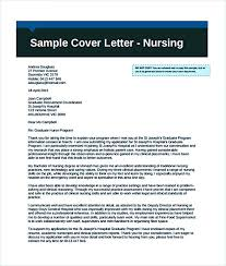 Nursing Cover Letter Template Free Create A Convincing Professional Cover Letter