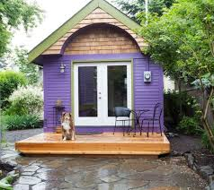 portland tiny house hotel. purple tiny house vacation in portland or homey oregon hotel