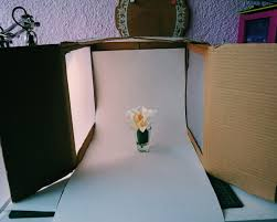 diy how to make a photography lightbox
