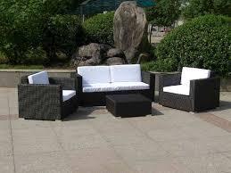 Black Wicker Outdoor Sectional  GCcourt HouseBlack Outdoor Wicker Furniture