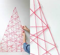 Small Picture 10 DIY Yarn Art Ideas for a Creative Touch Geometric wall art