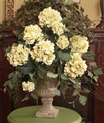 Small Picture Light Green Hydrangeas Silk Flower Arrangement AR114 99 Silk