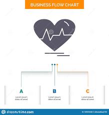 Ecg Heart Heartbeat Pulse Beat Business Flow Chart