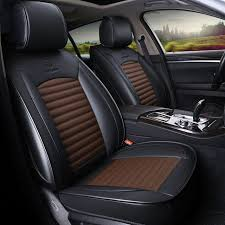 leather car seat cover seats covers automobiles cushion for toyota prius 20 30 highlander rav 4