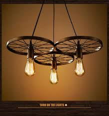 the lighting loft. Loft Industrial Iron Wheel Pendant Lights Country Bar Retro Cafe Room Lamp Hanging Novelty Lighting The