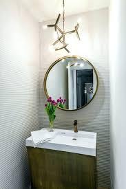Powder room lighting Recessed Contemporary Powder Room Mirrors Lighting Filament Bulb Intended For Inspirations Healthreviewsco Powder Room Lighting Spotterjpanoarcom