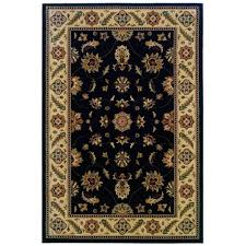 this review is from stratford kazmir black 5 ft x 8 ft area rug