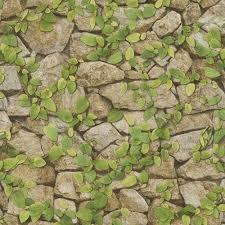 Vine Pattern Gorgeous Rasch Barbara Becker Stone Wall Pattern Wallpaper Faux Effect Vine