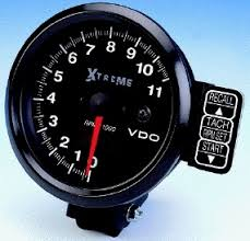 vdo extreme 11000 rpm recording tachometer black face black vdo extreme 11000 rpm recording tachometer black face black housing