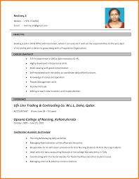 7 Biodata For Job Application Samples Cook Resume