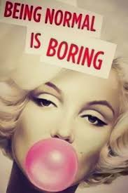 Being Beautiful Quotes Marilyn Monroe Best of Marilyn Monroe Quotes Being Normal Is Boring Print Silk POSTER 24x24