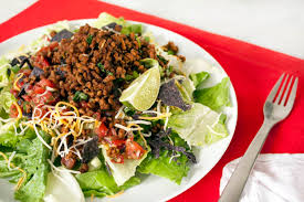 healthy yummy lunch ideas. 30-minute meals: taco salad recipe healthy yummy lunch ideas