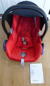 maxi cosi cabriofix baby car seat and manual free in guildford surrey gumtree