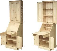 traditional hidden home office desk. Solid Pine Writing Bureau Desk, Laptop Workstation, Hidden Home Office | EBay Traditional Desk