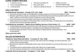 Nursing Assistant Resume Sample Download Cna Resume Skills
