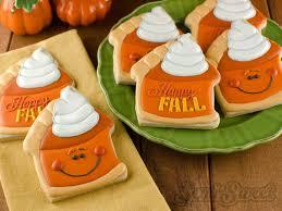 Semi Sweet Designs Coupon Code How To Make Pumpkin Pie Slice Cookies Cookies