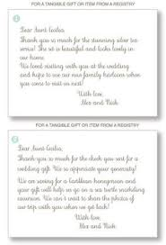 thank you note tips! a fool proof guide to greetings with Funny Late Wedding Thank You Cards how to write wedding thank you notes for wedding gifts! don't forget this funny late thank you cards