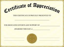 Certificates Of Appreciation Certificates Of Appreciation Template Unique 13 Certificate