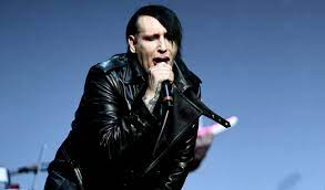Marilyn Manson surrenders to LAPD on ...