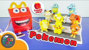 Trọn bộ Happy Meal chủ đề Pokemon ToyStation 285 - YouTube