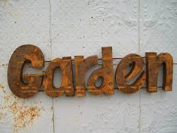 Decorative Metal Yard Signs Metal Garden Signs Gardening Design 7