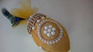 Decorative Nariyal Designs Shagun Nariyal Decoration Idea Coconut Decoration For Wedding Craftlas