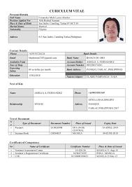 Resume Able Seaman Resume Wpazo Resume For Everyone