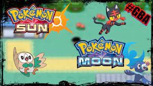 Pokémon Sun e Moon GBA - link na descrição - YouTube