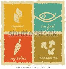 Vintage Food Labels Set Vintage Food Labels Stock Vector Royalty Free 114507124
