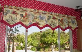 image of country valances decor