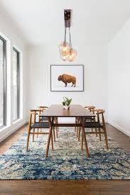 mid century homes dining room design milk