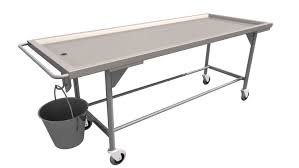 Image result for morgue trolley