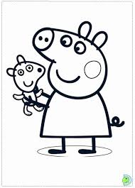 Small Picture Index of wp contentgallerypeppa pig para colorear