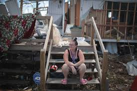as hurricane relief stalls in d c trump to rally base in florida panhandle