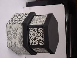 Paper Mache Boxes To Decorate paper mache box decorated Craft Ideas Pinterest Paper mache 5