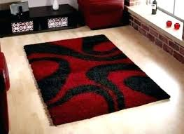 red black white area rugs modern living room design with wool rug and gray blac