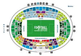 Olympia Paris Seating Chart Parc Des Princes Psg Stadium Guide Football Tripper