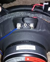 mark levinson sub replacement aftermarket sub detailed pics crutchfield com also shows how to wire a dvc 4ohm sub to run 8ohm